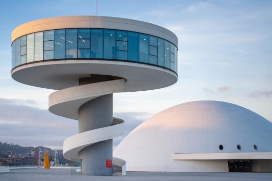 Centro Niemeyer, Alviles, Spain
