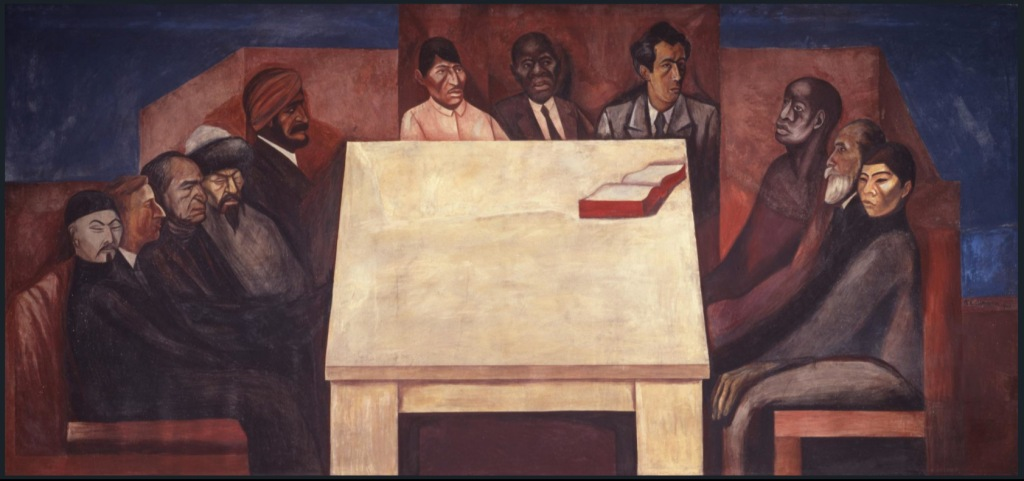 The table of universal brotherhood, 1931 José Clemente Orozco