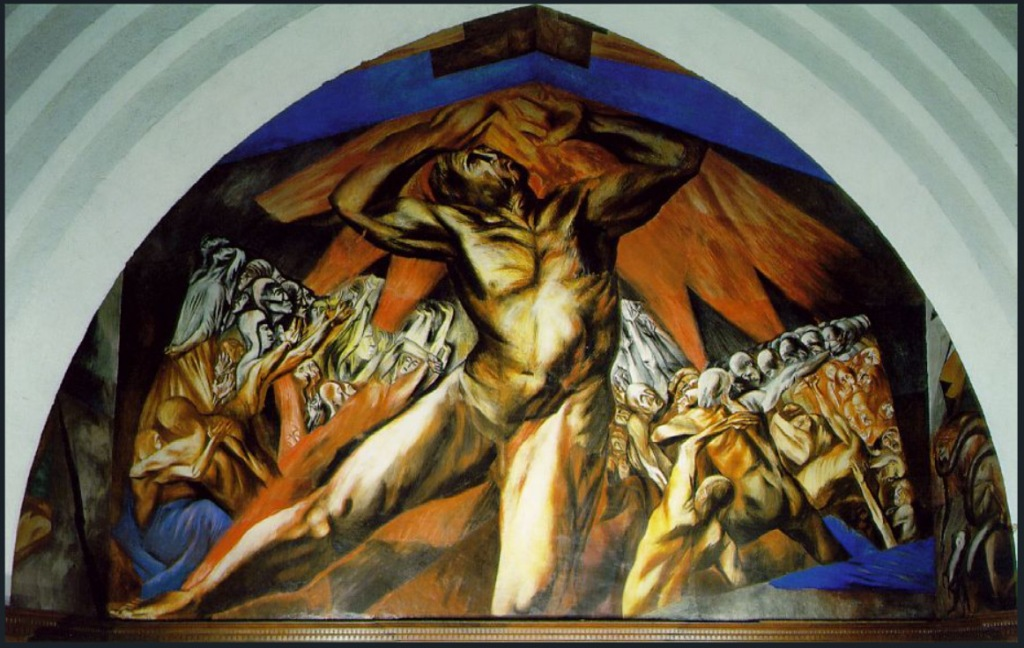 Prometheus, 1930 José Clemente Orozco