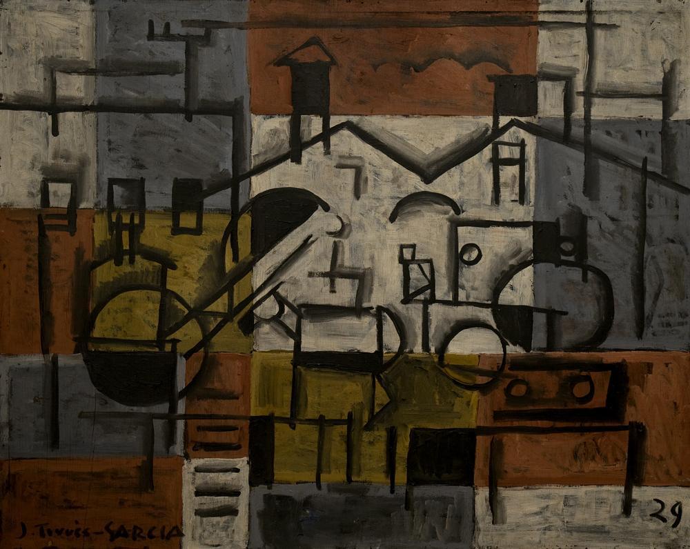 Pintura constructiva, 1929 - Joaquín Torres García