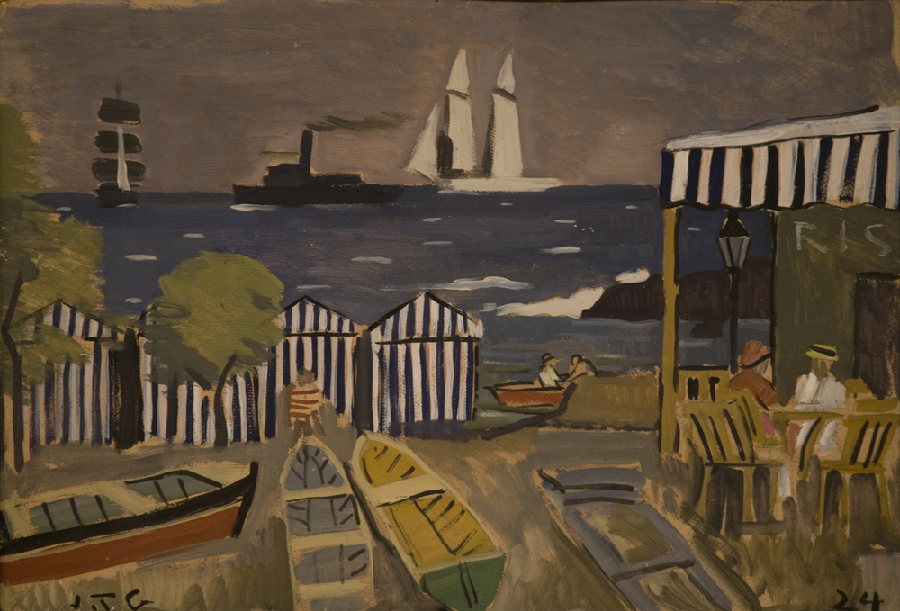 Paisaje de playa, 1924 - Joaquín Torres García
