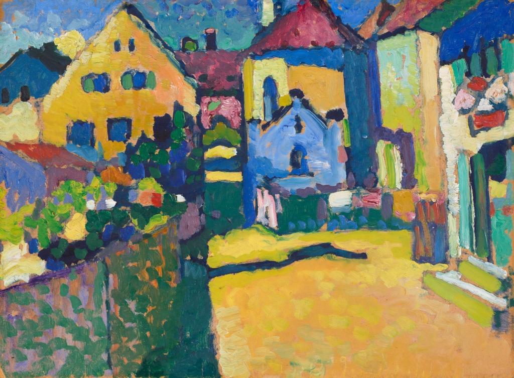 """Murnau - Grüngasse"", 1909"