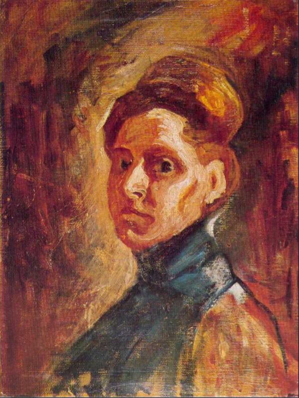 Self-portrait, 1907 - Nadezda Petrovic