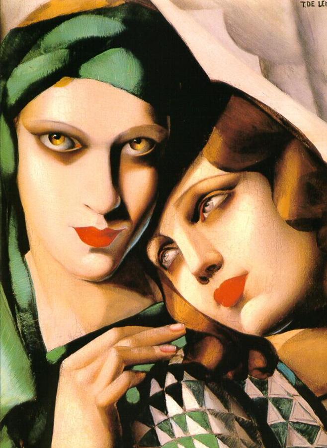"Tamara de Lempicka - The Green Turban"", 1930"