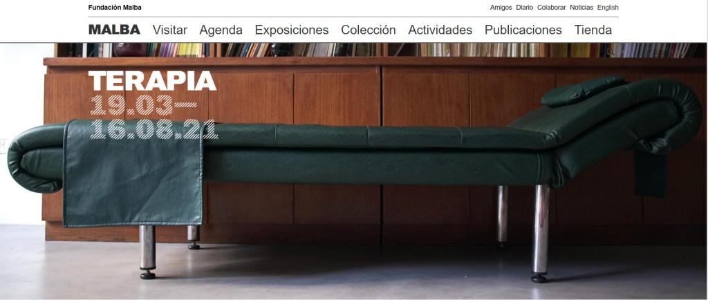 Terapia at MALBA website