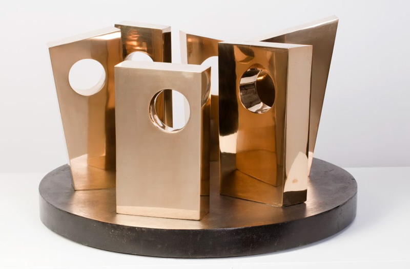 Six Forms on a Circle 1967, Sculpture by Barbara Hepworth